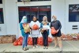 Mahasiswa Ekonomi UNILA lakukan aksi sosial bagi mahasiswa terdampak COVID-19