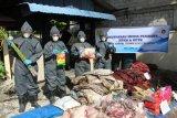 Karantina Pertanian Karimun musnahkan komoditas pertanian tak layak konsumsi