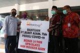 Bukit Asam salurkan 15 ton beras bantu warga Muara Enim dan Lahat