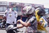 Tim gabungan di Padang Panjang sosialisasikan PSBB bagi pengendara
