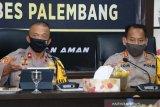 Personel Polrestabes gencarkan sosialisasi PSBB, Palembang zona merah