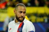 Bintang PSG Neymar dilanda kegelisahan, sepak bola kembali entah kapan