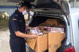 Bea Cukai Kudus gagalkan pengiriman rokok ilegal lewat ekspedisi