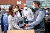 Ventilator buatan GM mulai dikirim ke beberapa rumah sakit di Amerika