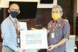 Bank Sulselbar bantu Pemprov Sulbar penanggulangan COVID-19