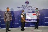 Korea Selatan telah kirim bantuan alat tes PCR untuk Indonesia