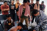 Lanal amankan 20 TKI ilegal menggunakan sampan nelayan dari Malaysia