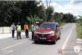 Ratusan kendaraan asal Sumsel dan lampung coba masuk tol Pematang dipaksa putar balik