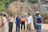 Perbaikan jalan putus akibat longsor Malalak ditargetkan selesai dua pekan