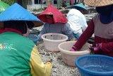 Perajin di Pulau Pasaran masih produksi teri asin