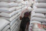 Menko Perekonomian sebut cadangan beras nasional mencukupi jelang Idul Fitri