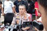 Polisi razia 13 titik perbatasan Kabupaten Gowa saat uji coba PSBB