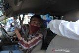 Posko check poin perbatasan Palembang