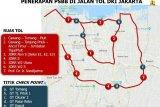 Lalu lintas tol di Jakarta, Jabar dan Banten turun 42 sampai 60 persen dampak dari penerapan PSBB