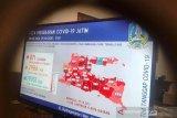 Jumlah pasien terkonfirmasi positif di Jatim capai 871 orang