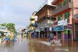 Banjir kembali landa Barito Utara  di tengah  pandemi  COVID-19
