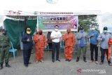 Waspada COVID-19, dr. Delis bantu APD untuk petugas medis dan warga Morowali Utara
