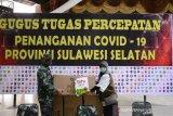 Kodam XIV/Hasanuddin serahkan 196 koli APD pada Dinas Kesehatan Sulsel