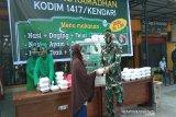 Kodim 1417 Kendari membuka Warung Ramadhan serba Rp2000