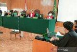Jaksa tuntut hukuman mati terhadap dua kurir narkoba 79 kilogram
