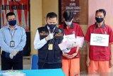 Tim Reserse narkoba Polda Sumsel tangkap 11 pengedar sabu antarprovinsi