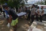 Pemakaman DPO terduga teroris Poso