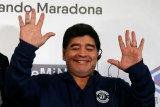 Maradona: bantuan Tuhan untuk hentikan pandemi corona