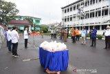 Wagub Sumsel terima 500 paket Sembako dari pengusaha untuk korban PHK
