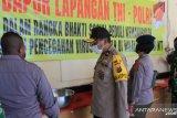 Wakapolda NTT minta dapur umum TNI-Polri harus selalu bersih