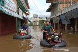 Banjir di Barito Utara meluas, delapan kecamatan terdampak banjir