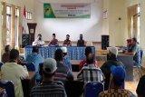 Danramil Teweh Tengah hadiri musdes BLT Dana Desa