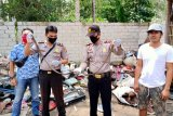 Pengepul rongsokan di Lampung Timur temukan ratusan amunisi