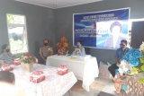 Gelar reses, Wakil Ketua DPRD Manado bertemu konstituen pakai protokol COVID-19