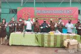 Kejaksaan Negeri Kabupaten Bogor musnahkan 8.000 lembar uang palsu