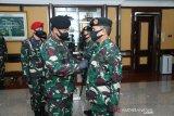 Panglima TNI pimpin sertijab kepala Pusat Keuangan TNI di Mabes Cilangkap