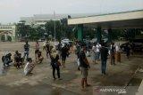 Razia masker di Palembang
