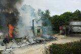 APMS Beo Talaud ludes terbakar