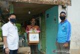 Gabungan PUPR se-Sumsel salurkan 2.242 paket sembako untuk masyarakat prasejahtera