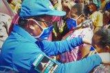 Demokrat bagi masker di kawasan perbatasan NTT-Timor Leste