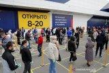 10.633 kasus baru COVID-19 di Rusia dalam sehari