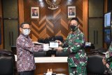 Pejabat PLN audensi dengan KSAD Jenderal TNI Andika Perkasa