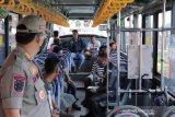 Lagi, 40 warga Palembang terjaring razia disiplin masker langsung dikarantina di Asrama Haji
