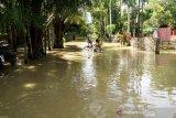 11 desa di Aceh Barat terendam banjir, warga tetap bertahan di rumah