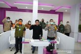 Gubernur Herman Deru laporkan situasi terkini COVID-19 kepada Letjen TNI Doni Monardo