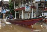 Delapan kecamatan terendam banjir di Barito Utara,Kalteng