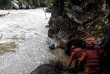 Hilang sejak Kamis, tim gabungan terus lakukan pencarian warga hanyut di Pasaman Barat