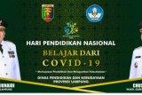 Gubernur Lampung mengajak insan pendidikan tetap belajar di rumah