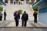 Trump tak berkomentar atas kemunculan kembali Kim Jong Un