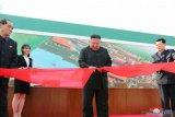 Kim Jong Un muncul resmikan pabrik pupuk