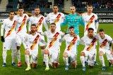 Pemain AS Roma kenakan lencana